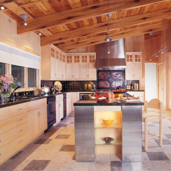 Modern & Stainless Kitchen