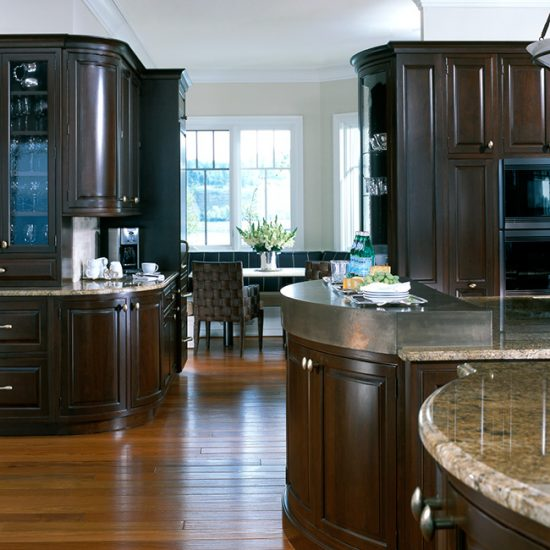 Pinnacle of Design, Cherry cabinetry