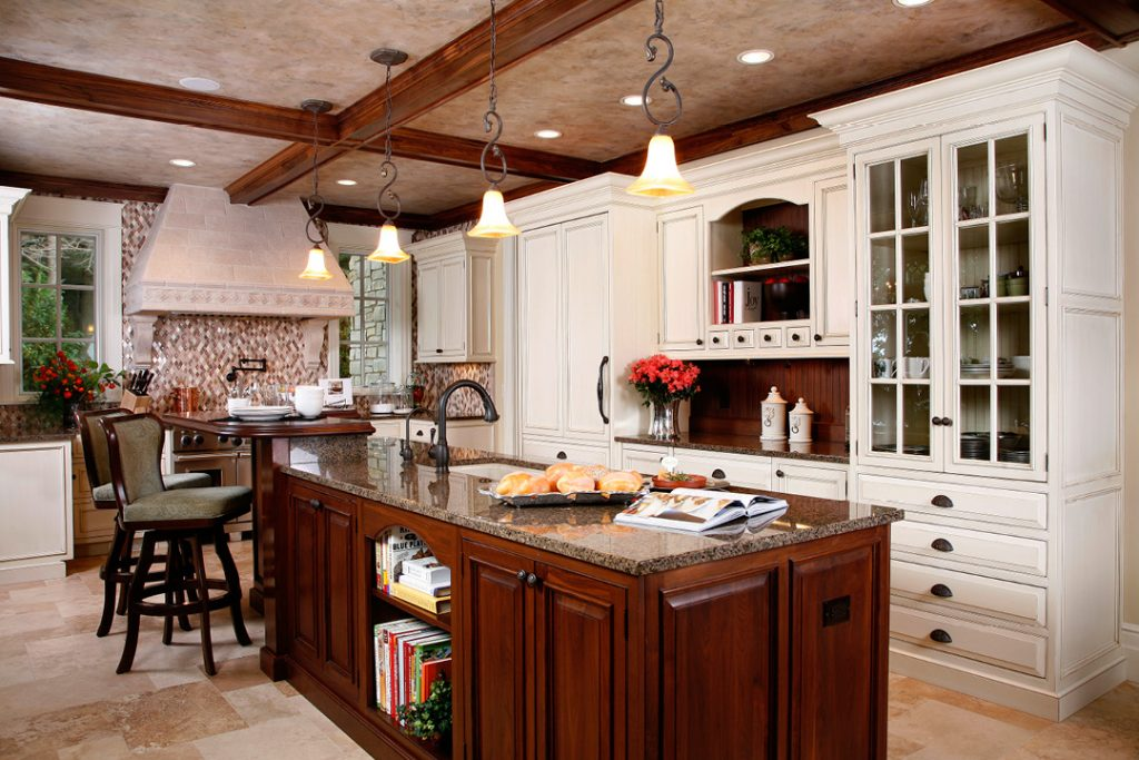classical, traditional kitchen
