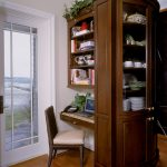 Office Nook, Cherry cabinetry