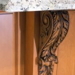 traditional kitchen, corbel